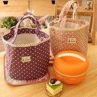 nuovo 4 colori termica portatile dispositivo di raffreddamento isolato borsa tote contenitore pranzo picnic sacchetto