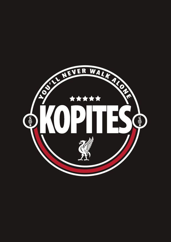♠ KOPITES #LFC #Artwork