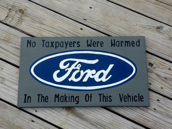 Truck Sign  Man Cave Sign  No Taxpayers by RusticLaneCreations