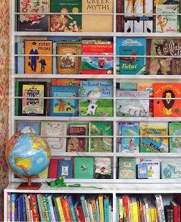 Otras maneras de disponer los libros. Entrada en el blog anatarambana literatura infantil.