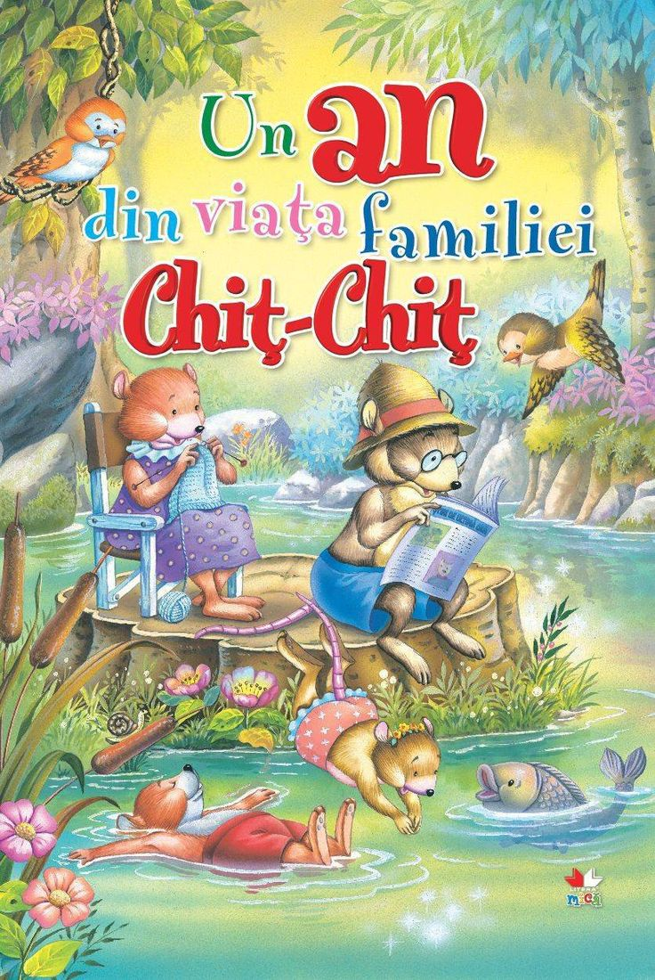 Un an din viata familiei Chit-Chit -  -  - Faceti cunostinta cu familia Chit - Chit, simpaticii soricei care isi duc viata intr-o casuta din mijlocul padurii. U