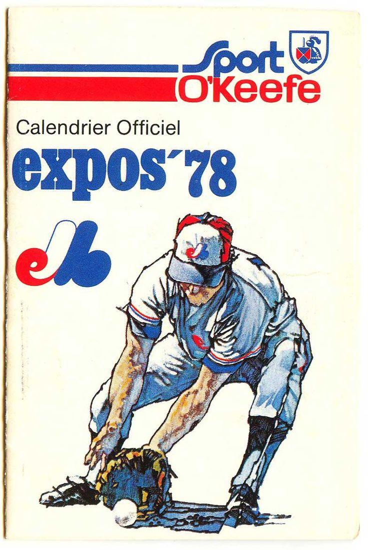 1978 Expos Mlb logos