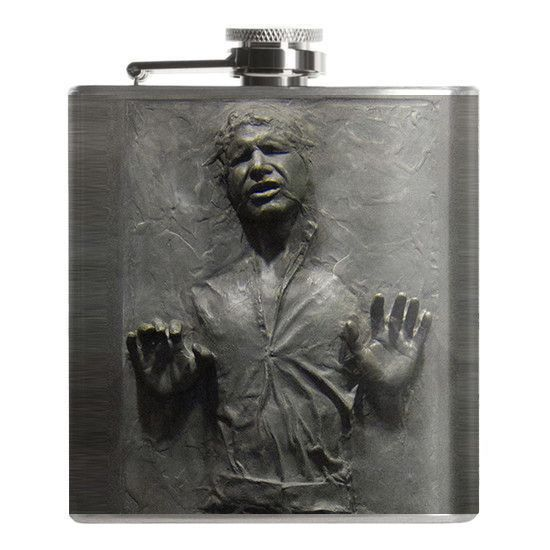 Han Solo Star Wars Flask. More awesome Star Wars stuff available at FalstaffTrading.com!