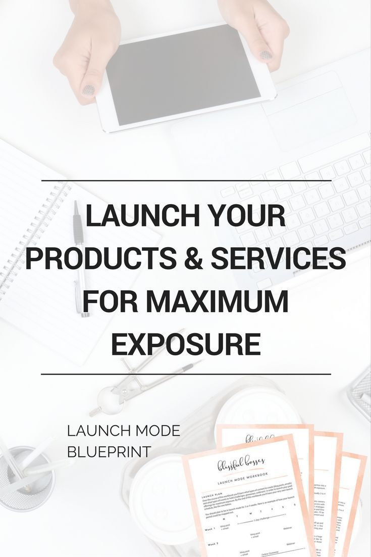 Launch your products and services for maximum exposure and sales with my blueprint filled with example content and live events to hold. http://blissfulbosses.com