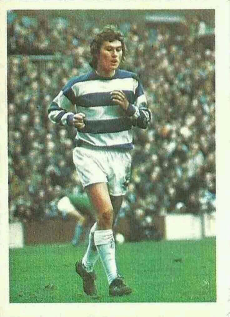 Dave Thomas of QPR in 1974.