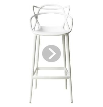 Replica Philippe Starck Masters Stool White - 75cm with fantastic offers from over 1,000 retailer furniture stores.  Buy online or at the retailer's store. Cash rebates when you buy.