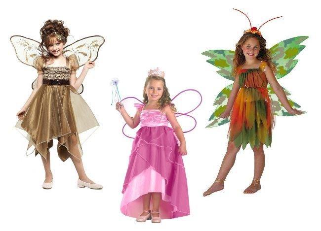 Новогодние детские костюмы фея цветов