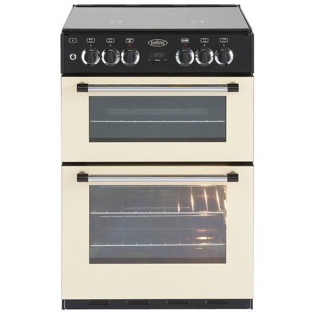 Buy Belling Classic Double Dual Fuel Cooker - Cream at Argos.co.uk - Your Online Shop for Freestanding cookers, Cooking, Large kitchen appliances, Home and garden.
