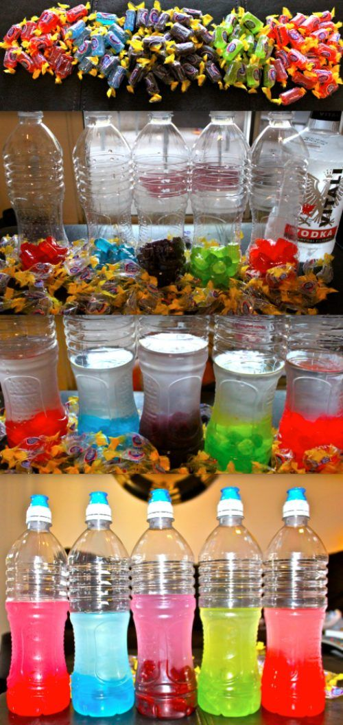 Jolly Rancher Vodka -- bartender Paul had some of this today and it just sounded so delicious