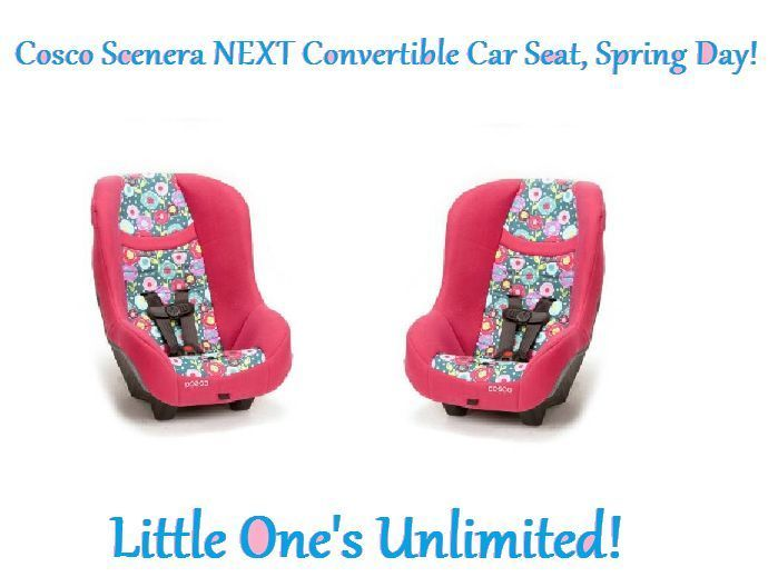 Cosco Scenera NEXT Convertible Car Seat, (Spring Day ...