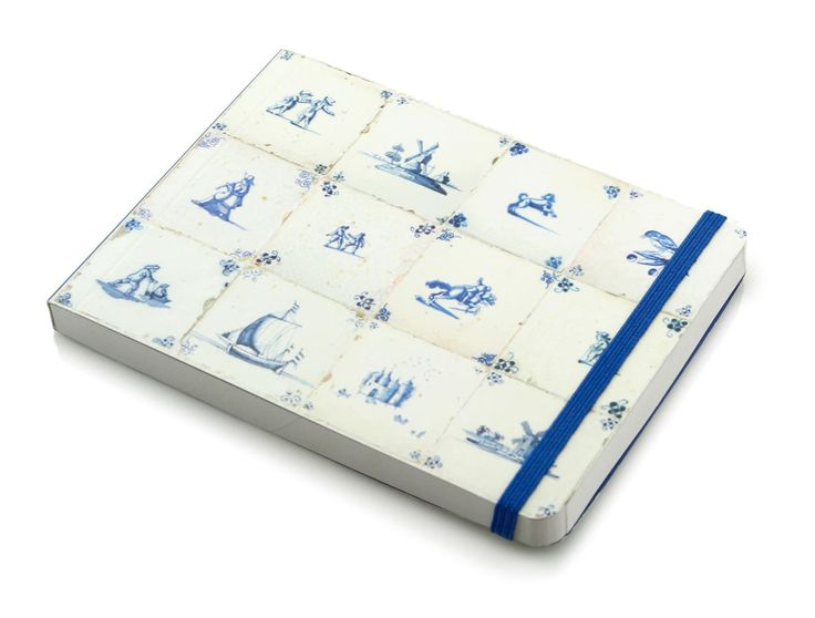 SketchPad, Small Soft Cover Sketchbook, Delft Blue Tiles, €6.50