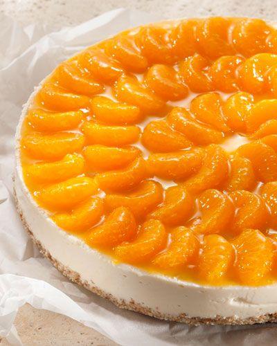 Belohnung: Joghurt-Mandarinen-Torte mit Amaranth-Boden