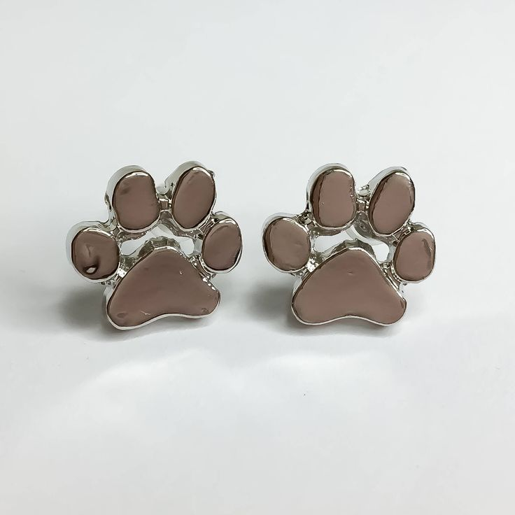 Paw Print Earrings, Dog Owner Jewelry, Gift Ideas, Dog Lover, Stud Earrings, Gifts for Her, Man's Bestfriend, Pet Owner Gift, Simple Jewelry by MissFitBoutiqueCA on Etsy https://www.etsy.com/ca/listing/559884887/paw-print-earrings-dog-owner-jewelry