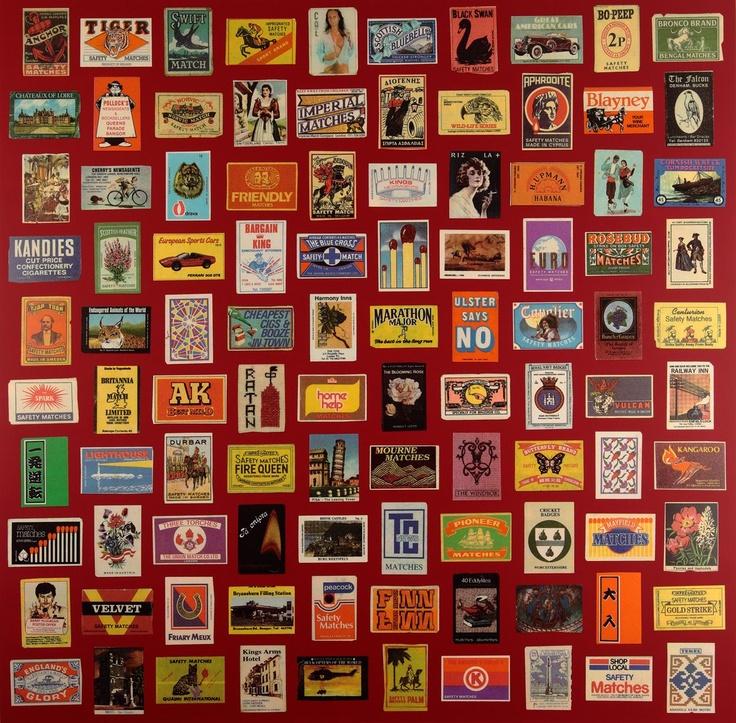 Matchboxes II Silkscreen Print by Sir Peter Blake