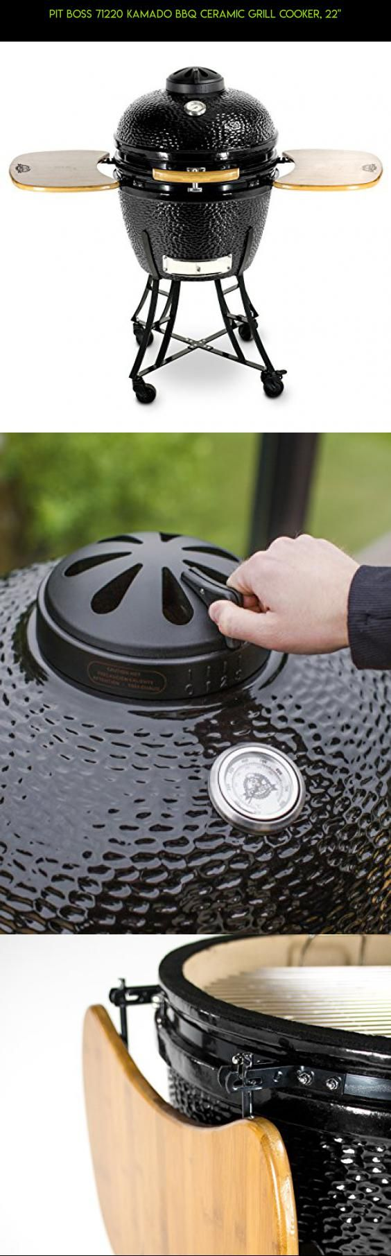 """Pit Boss 71220 Kamado BBQ Ceramic Grill Cooker, 22"""" #grills #drone #camera #shopping #parts #kit #technology #tech #fpv #komodo #products #plans #racing #gadgets"""