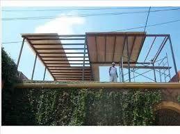 Resultado de imagen para techos ligeros para terrazas