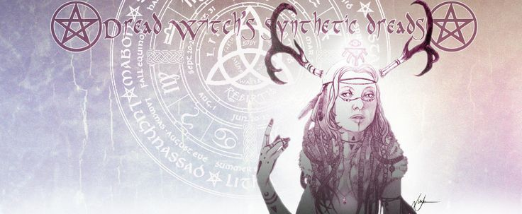 New art made by Luna White for me :) Dread Witch