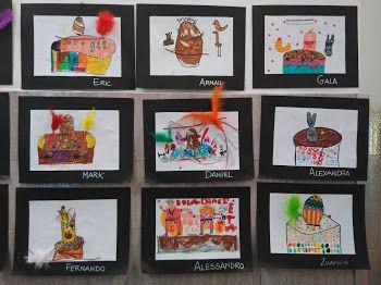 MONES DE PASQUA - Material: Cartolina, paper, colors, elements diversos - Nivell: 1PRI CI 2015-16 Escola Pia Balmes