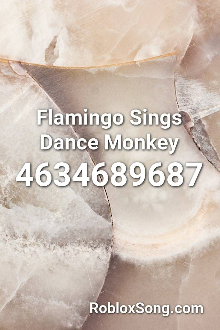 Flamingo Sings Dance Monkey Roblox Id Roblox Music Codes In 2020