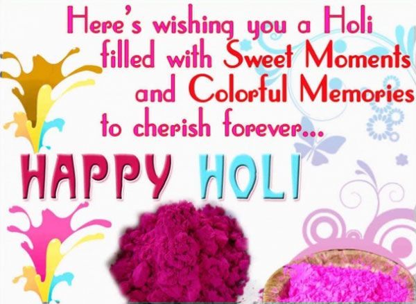 Happy Holi Wishes Quote SMS in English - Quotes 2 SMS