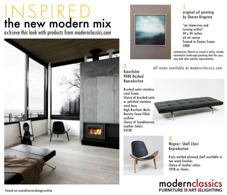 a moody misty fireplace daybed kind of inspiration board all products available modern daybedclassic furnituremodern