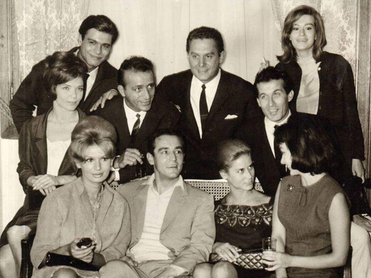 Greek Stars & Vittorio Gassman