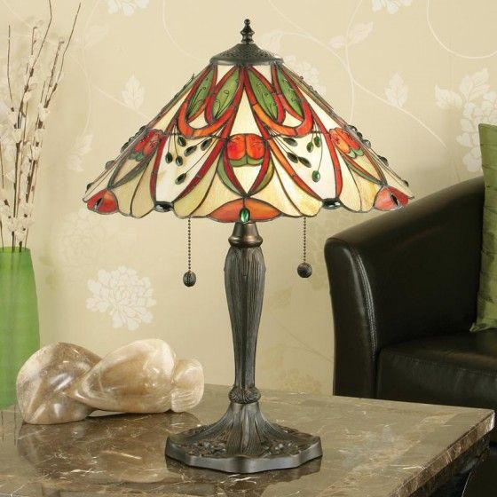 Paris Porcelain Art Nouveau Period Lamp Chinese Taste: Lyon Table Lamp Tiffany Table Lamp Inspired By The Work Of