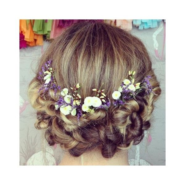 Junior Bridesmaid Hairstyles ❤ liked on Polyvore