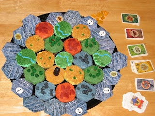 Colonos de Catan (pastitas) / Settles of Catan (cookies)