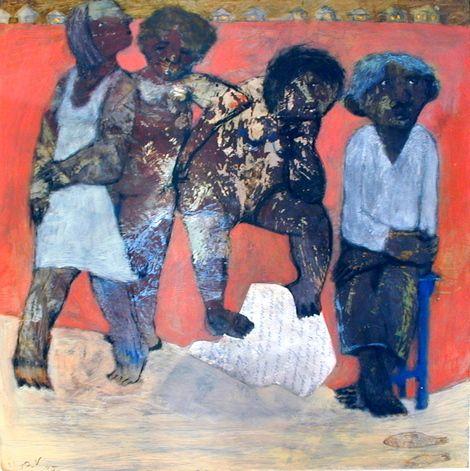 Ilya Volykhine, Outback, 2005 oil on panel, 40x40cm on ArtStack #ilya-volykhine #art