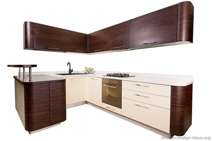 Kitchen of the day an isolated photo of a modern kitchen for Cream kitchen base units