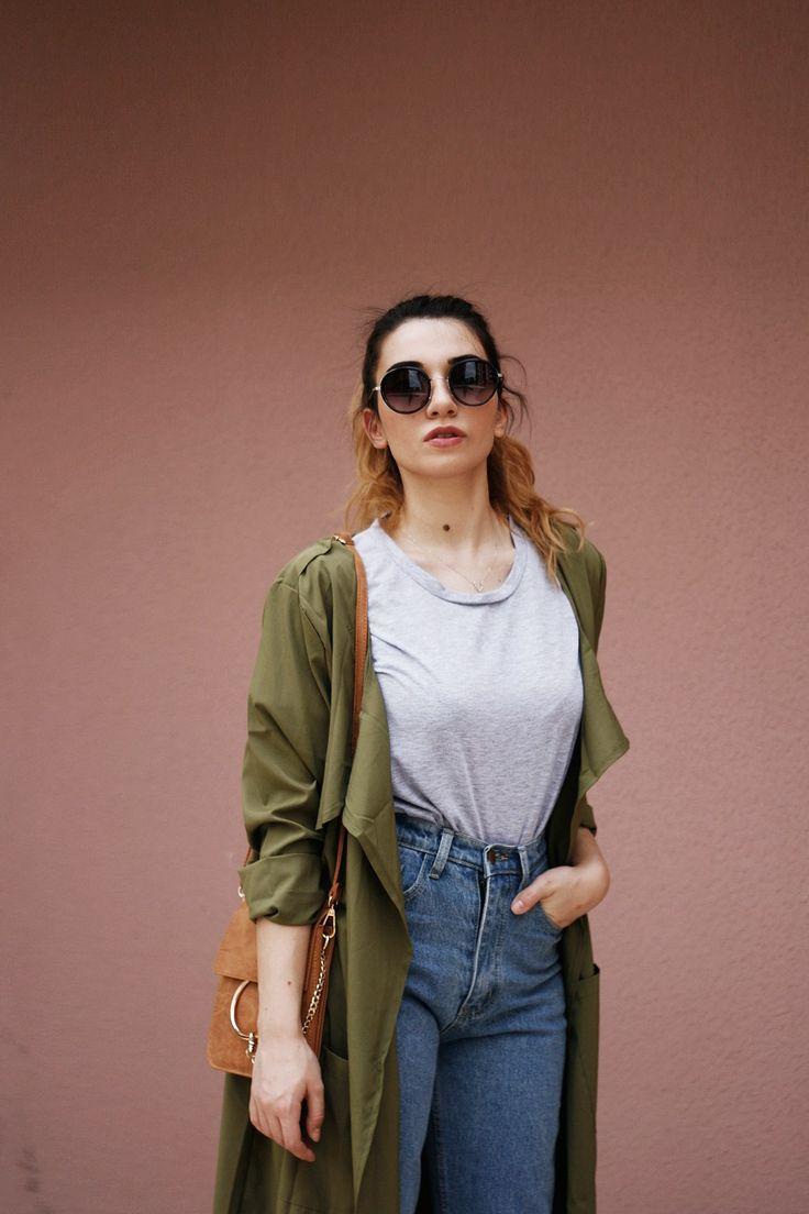Melikenin Stil Gunlugu:  Women's Retro Fashion Round Cat Eye Sunglasses 9786