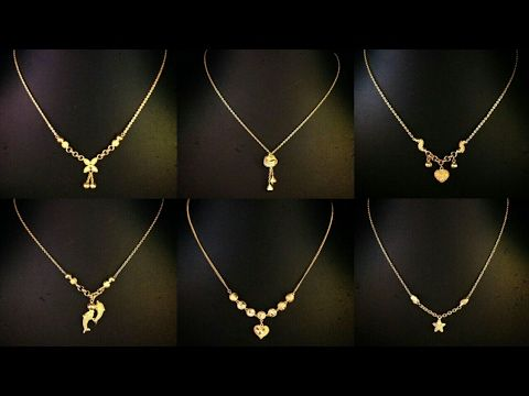 Gold Chain Designs For Ladies In 10 Gram Youtube Gold