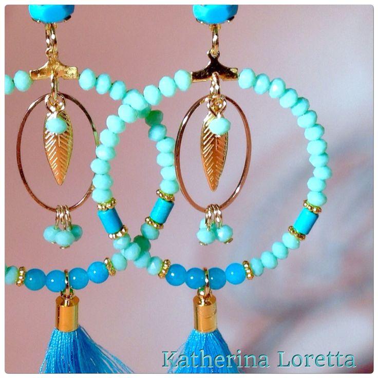 Earrings turquoise❤️