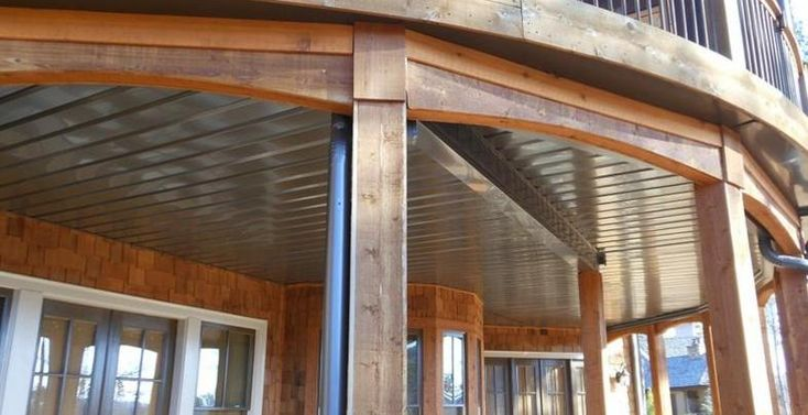 Watershed Underdeck Ceiling System Under Deck Patio