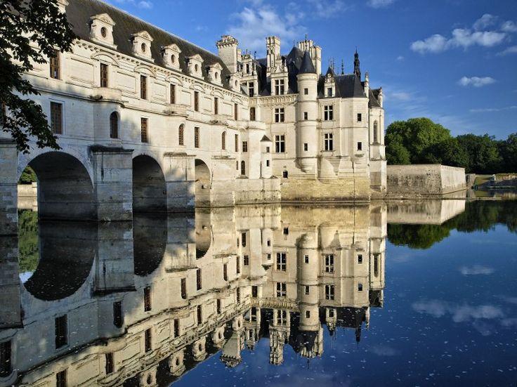 Le château de Chenonceau (Chenonceau) est l'un des plus beaux châteaux de la Loire. Il est le 24e site touristique de France. © ZYLBERYNG Didier /AFP