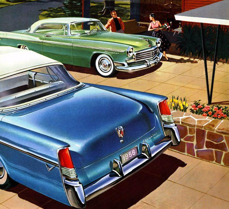 86 best Chrysler of 1956 images on Pinterest | Vintage cars, Classic ...