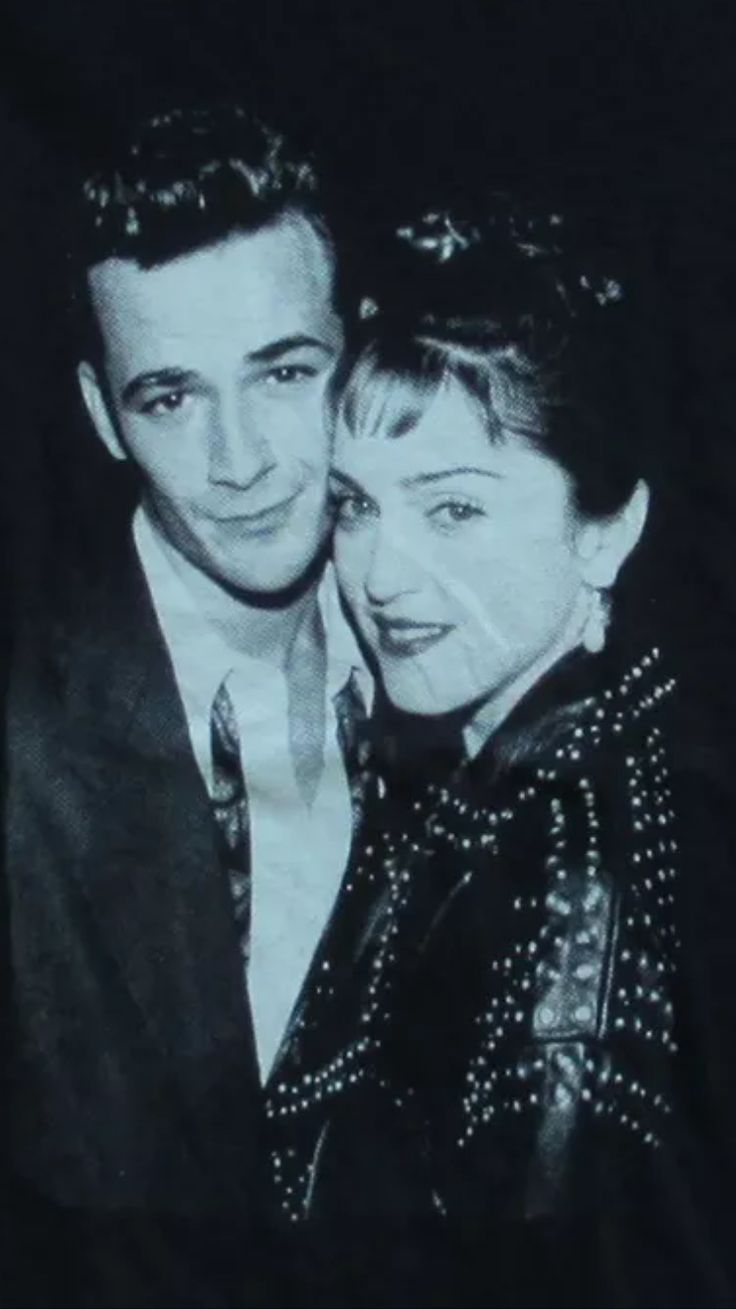 Luke Perry & Madonna  Back In The Day! :)