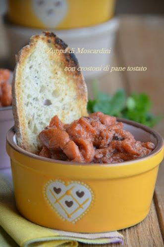 Cucina Scacciapensieri: Zuppetta di moscardini