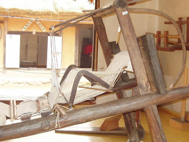 Korean weaving loom, Korean cultural center