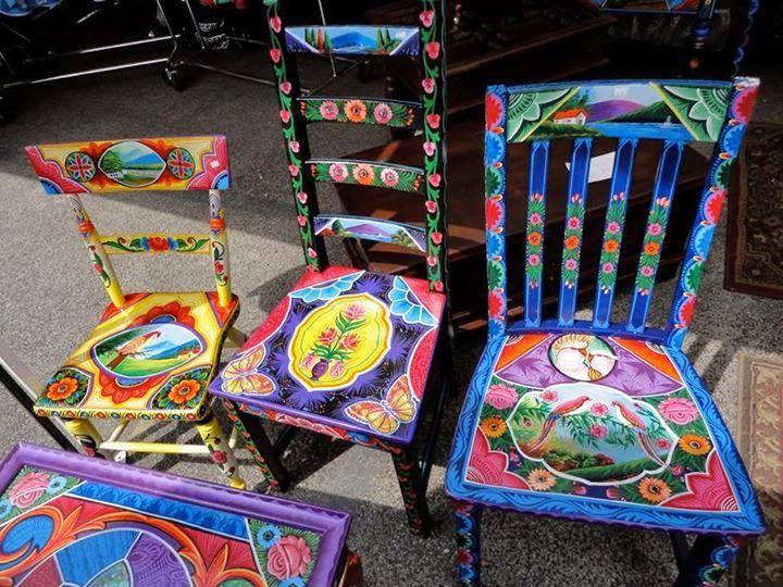 17 mejores ideas sobre sillas pintadas a mano en pinterest for Quiero ver sillas