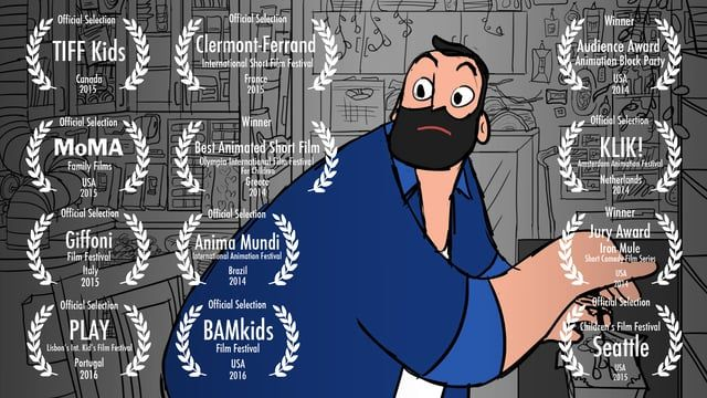 When an eccentric inventor realizes he's not a perfect father, he tries to make one.  PAPA will be on the big screen at BAM on February 27th and 28th!  For a full list of screenings and awards: papafilm.tumblr.com
