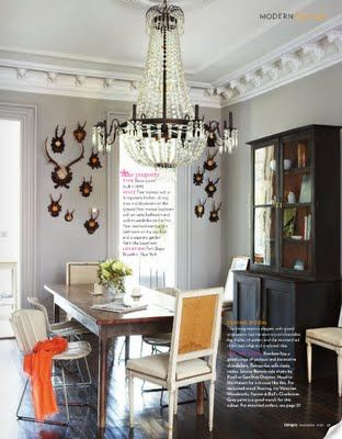 Jenna Lyons dining room, one of my favs.