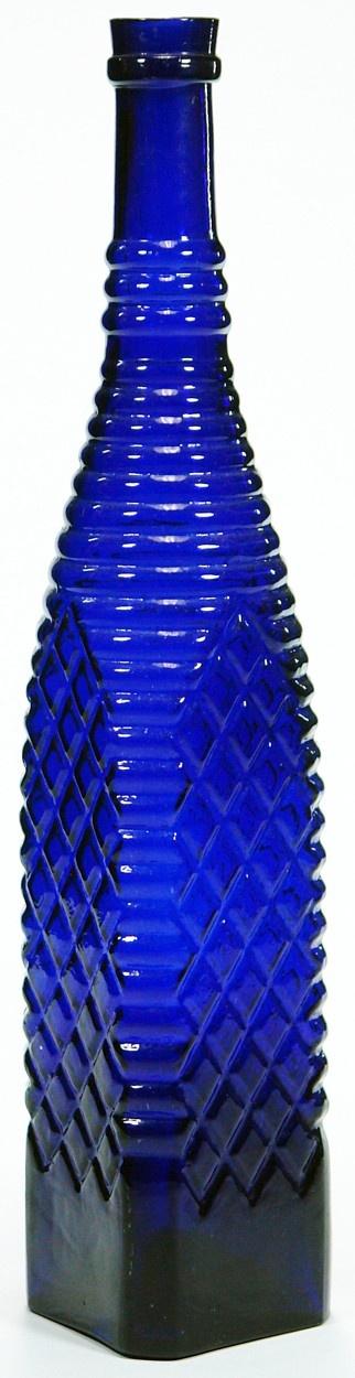 Grimble's Vinegar. Diamond pattern. c1880s