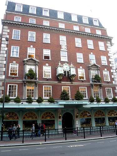 Fortnum and Mason.  Owned by  the Weston Family.
