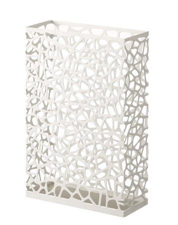 Amazon.com - Nest - White Metal Rectangular Umbrella Stand - Free Standing Umbrella Racks