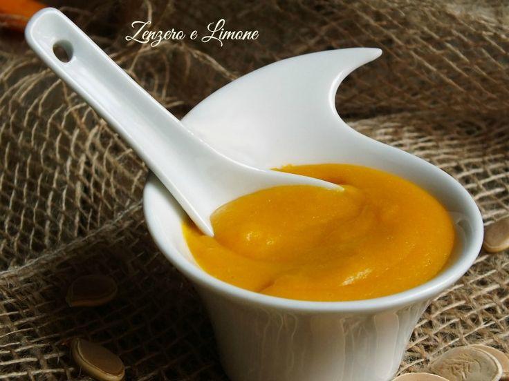 crema pasticcera alla zucca senza uova
