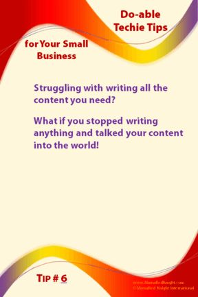 Small Business Owners, 5 Ways to talk that book into the world #Author #CreateContent