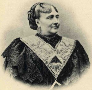 The first female freemason of modern times is Maria Deraismes (1828-1894)