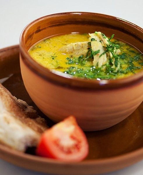 Куриный суп «Чихиртма»